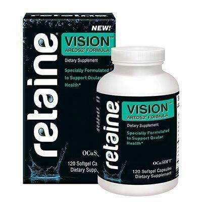 AREDS 2 Eye Vitamin 120 softgels Retaine Ocusoft