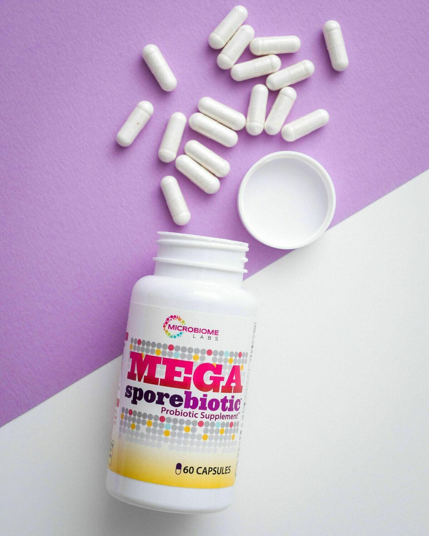 Megasporebiotic Probiotic 60caps Microbiome Labs