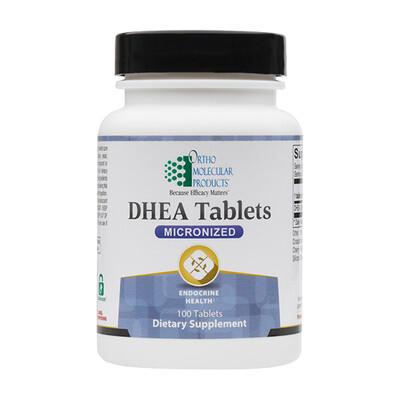 DHEA 5mg 100tab Ortho Molecular Products