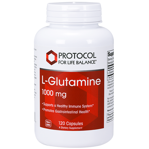Glutamine 1000mg 120 cap Protocol for Life Balance