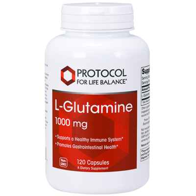 Glutamine 1000mg 120 cap Protocol for Life Balance