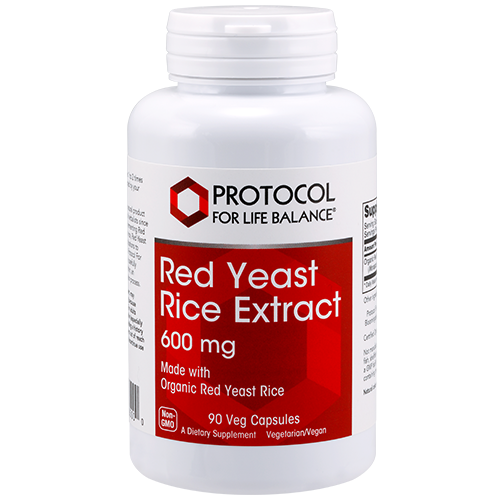 Red Yeast Rice 600mg 90cap Protocol for Life Balance