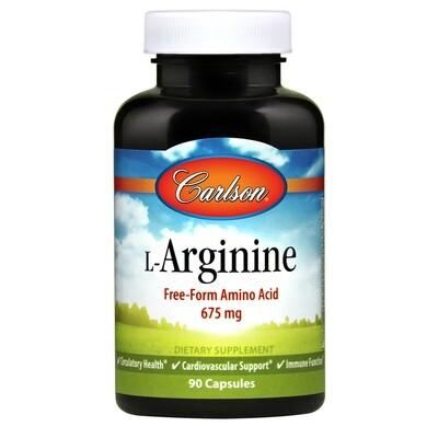 L-Arginine 90 Cap Carlson