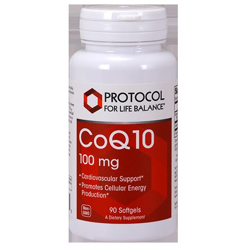CoQ10 100mg 90 gel Protocol for Life Balance