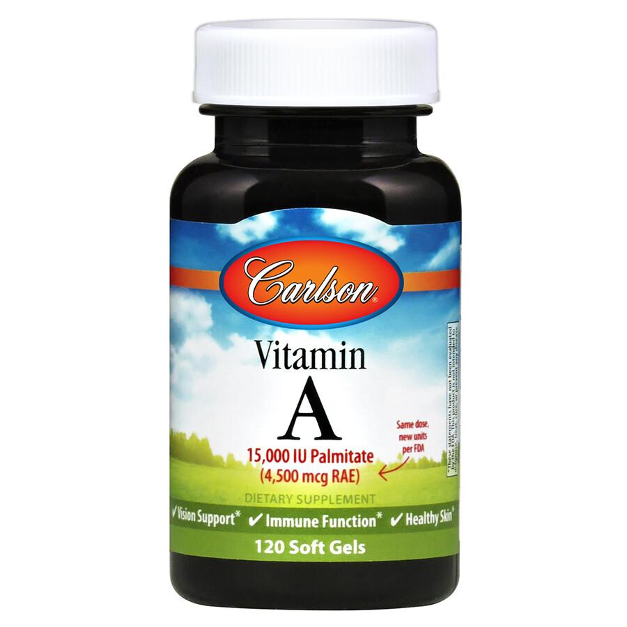 Vitamin A Palmitate 15000IU 120gel Carlson