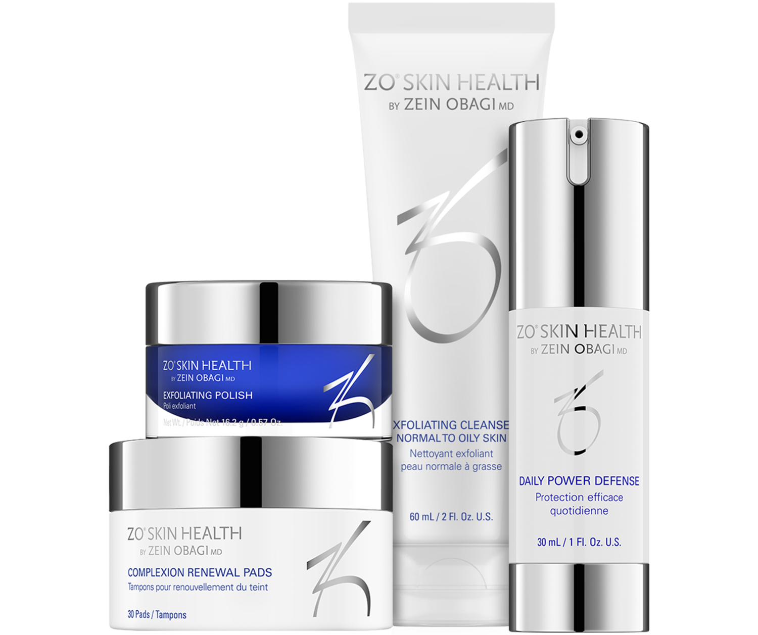 ZO Daily Skin Care Program - 4 Piece, Full Size