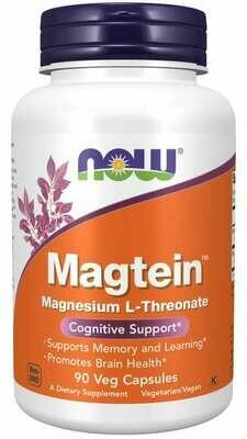 Magnesium Threonate 144MG 90 Cap NOW Foods