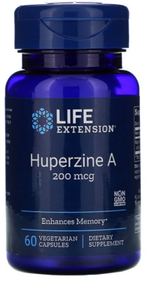 Huperzine A 200 mcg 60 caps Life Extension