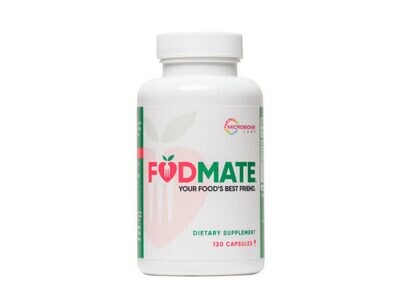 Fodmate Proprietary Enzyme Blend 120caps Microbiome Labs