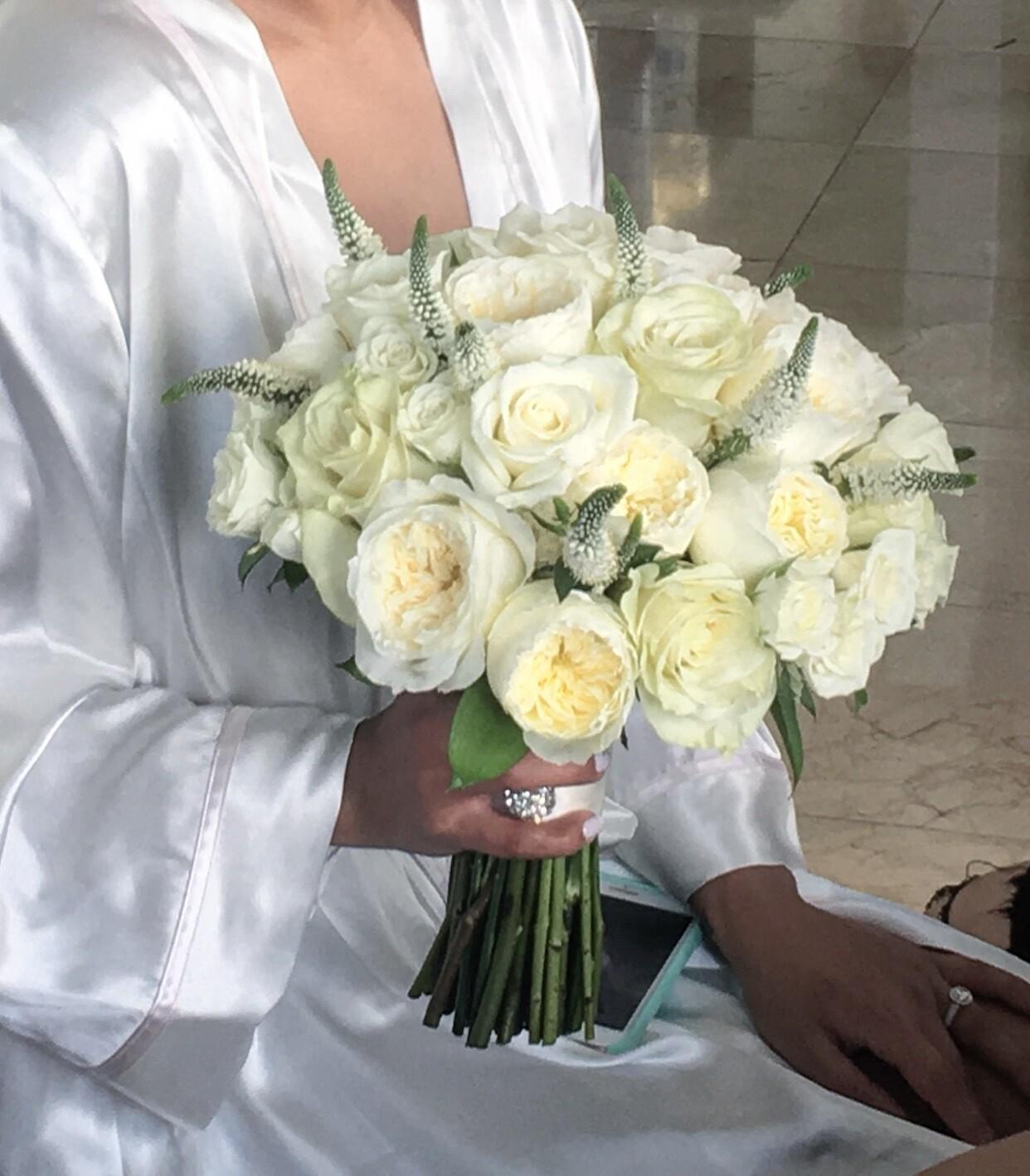 Bridal Bouquet-Roses Classic Combo