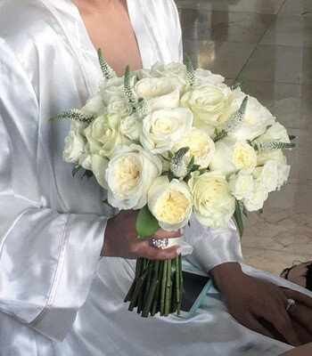 Bridal Bouquet-Roses Classic Combo