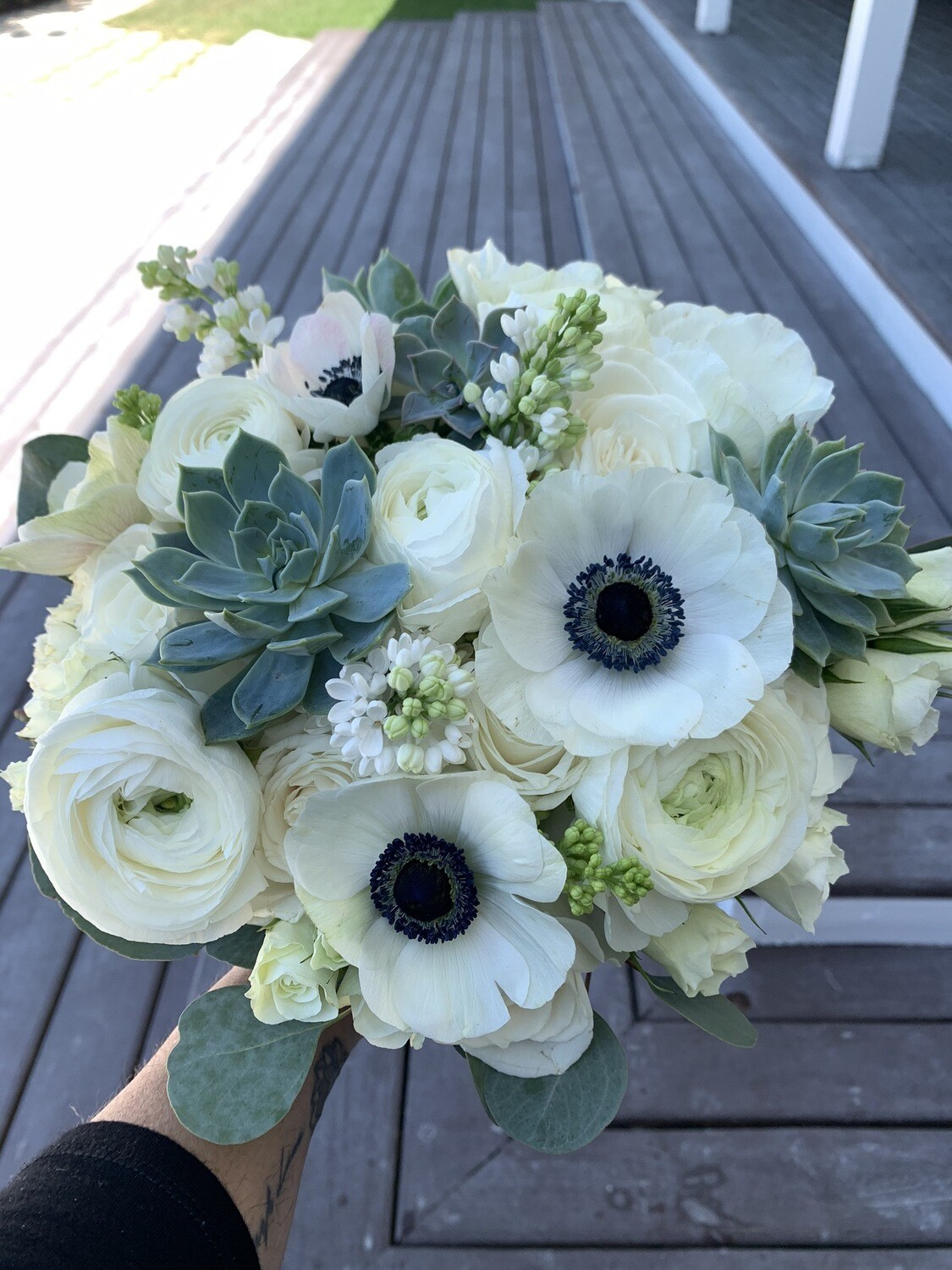 Bridal Bouquet-Succulent Beach Collection