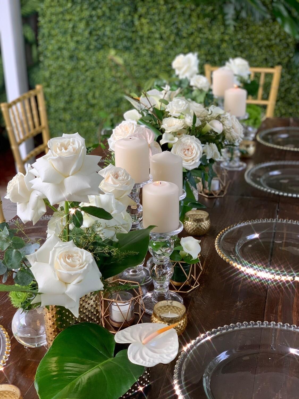 SUPER DEAL (10-12 Guests - Table & Decor)
