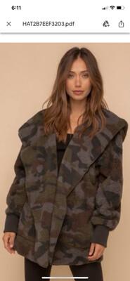 Hem & Thread - 8433F - Jacket fleece camo