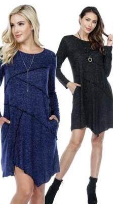 Yak & Yeti - 20520 - Dress assymetrical