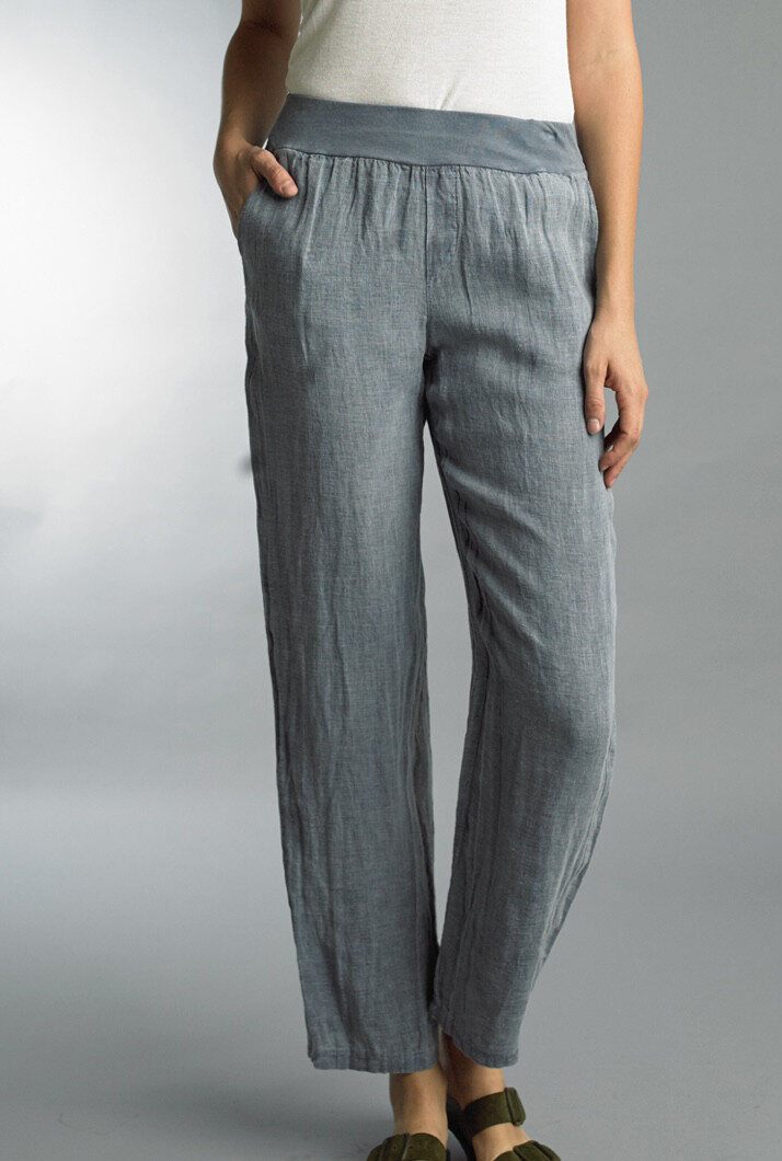 TEMPO PARIS - 1500E - PANT LINEN POCKETS