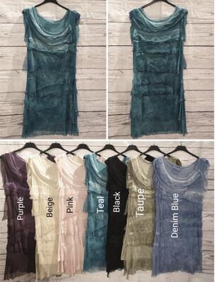 SEDUZIONE - 1195 - DRESS TIERED