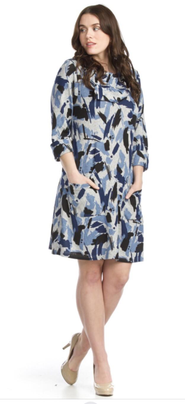 PAPILLON - SD11431 - ALINE SWEATER DRESS