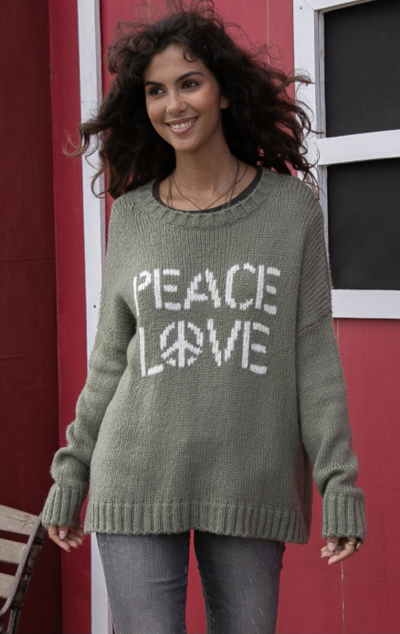 WOODEN SHIPS - PEACE LOVE CREW