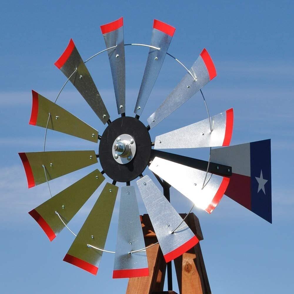 15' Wood Windmill
