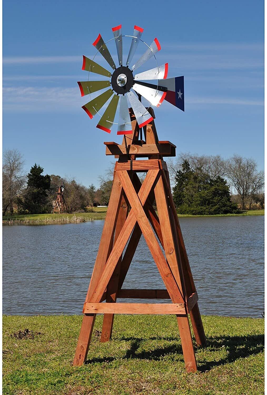 8' Wood Windmill