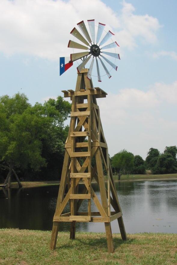 20' Wood Windmill