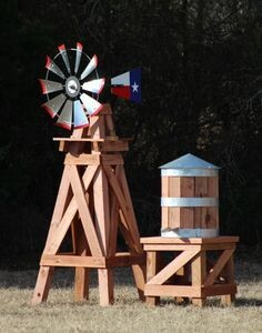 Small Water Tower for 8' Windmill