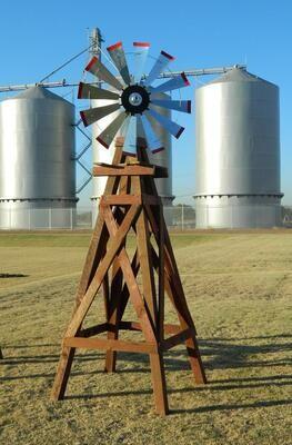11' Wood Windmill