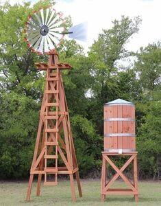 EXTRA- Large 10' Water Tower for 20' Windmill
