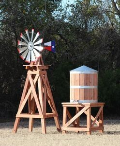 Medium Water Tower for 11' Windmill