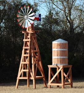 Large Water Tower for 15' Windmill