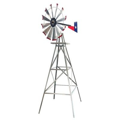 8 Foot or 11 Foot Metal Windmills