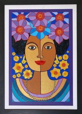 The Goddess of Peace by Nancy Reyes art