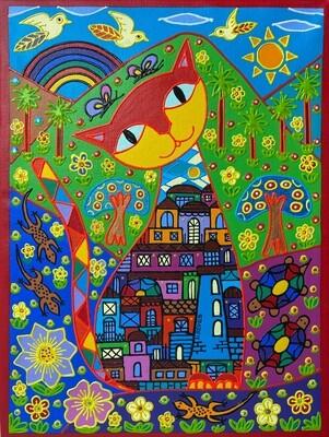 City Cat by Nancy Reyes ART
