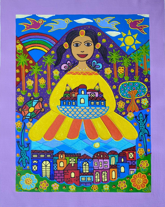 City Girl by Nancy Reyes Art