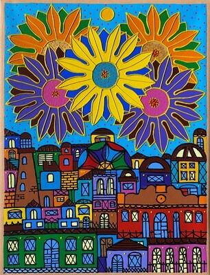 The Bright City by Nancy Reyes art