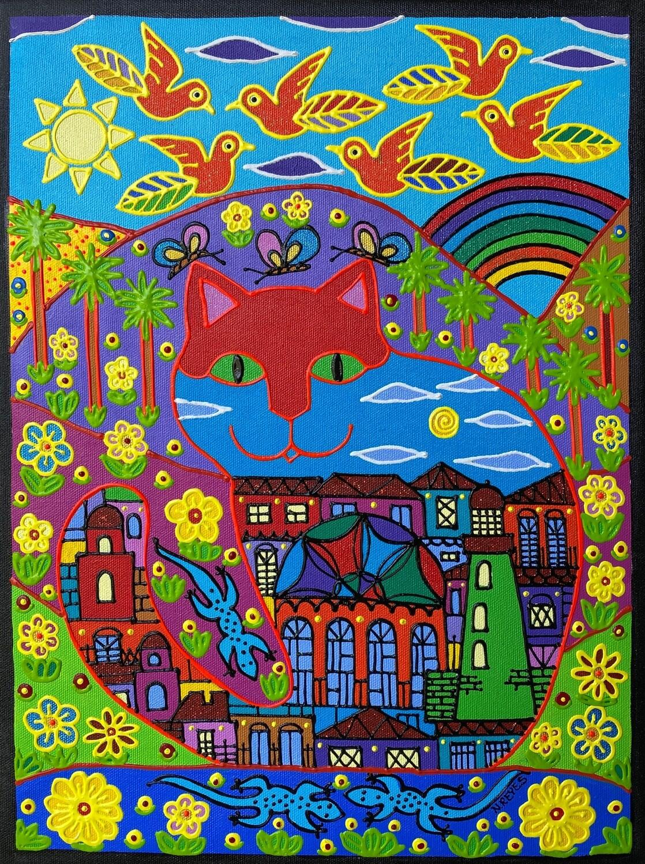 Magic Cat by Nancy Reyes Art
