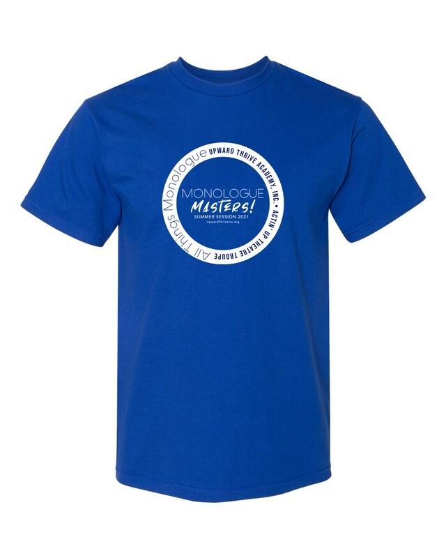 Actin' Up Monologue Masters Summer T-shirt