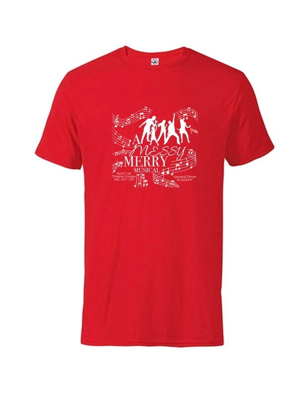 Actin' Up A Messy Merry Musical Fall T-shirt