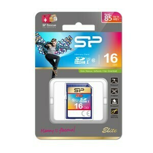 Silicon Power SDHC Card 16GB Elite class 10 UHS-1