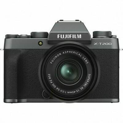 Fujifilm X-T200 + 15-45mm