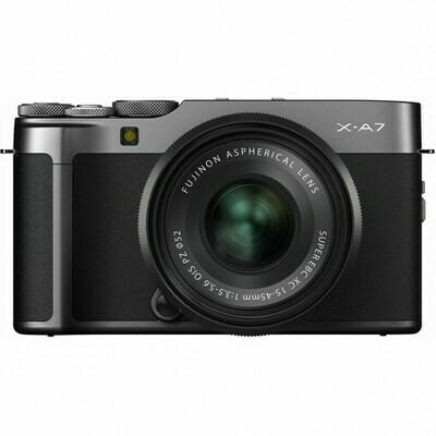 Fujifilm X-A7 Darksilver