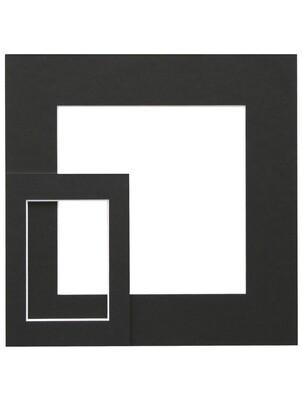 Passepartout zwart SP115