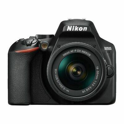 Nikon D3500 + 18-55mm