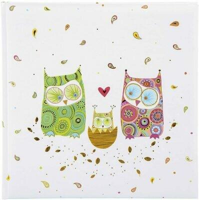 Goldbuch fotoalbum Little owl family