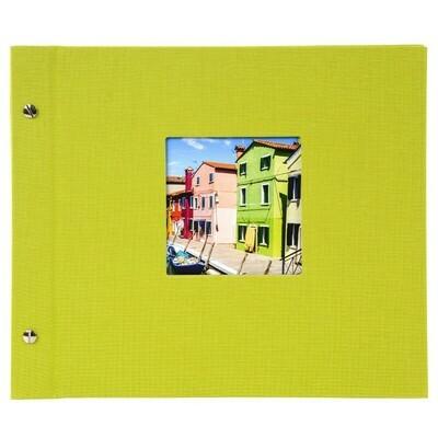 Goldbuch Bella Vista losbladig album 30x25 green