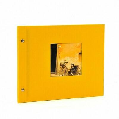 Goldbuch Bella Vista losbladig album 30x25 yellow