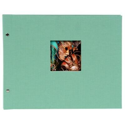 Goldbuch Bella Vista losbladig album 30x25 aqua
