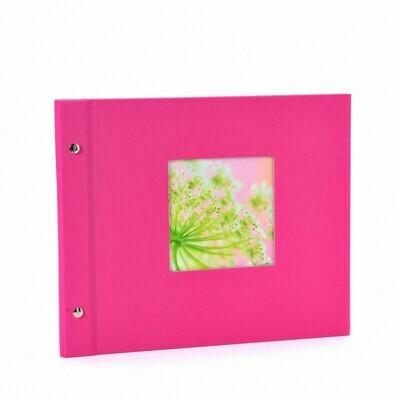 Goldbuch Bella Vista losbladig album 30x25 pink