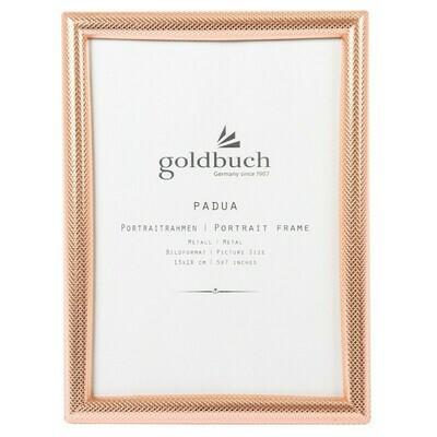 Goldbuch Padua fotolijst 10x15 koper